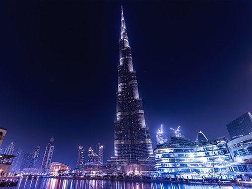 Нова година 2021 Дубаи